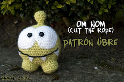 Amigurumi Om Nom (Cut the rope)