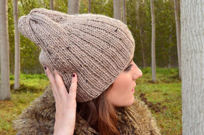 Gorro Tweed DIY Knitting Kit