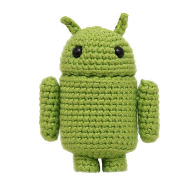 Andy the Android patrón Amigurumi