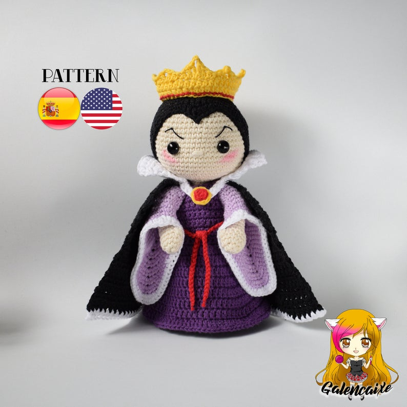 Crochet PATTERN Evil Queen