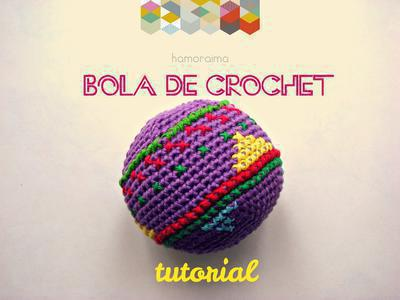 Tutorial Bola de Crochet