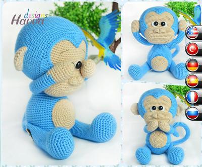 Fun Monkey Themed Yarn Projects | 332x400