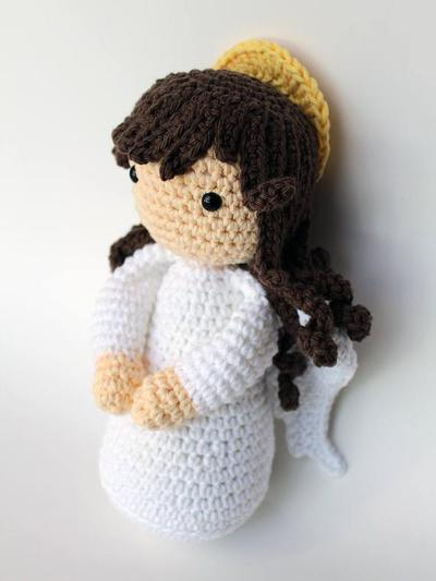 Angel de la guarda Amigurumi