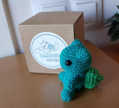 PATTERN bulbasaur pokemon / crochet kawaii amigurumi