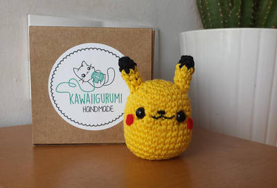 PATTERN Pikachu pokemon crochet kawaii amigurumi
