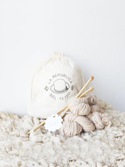 Knitting Kit Onix Beige