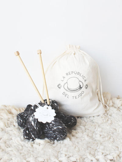 Knitting Kit Pirita Mercury