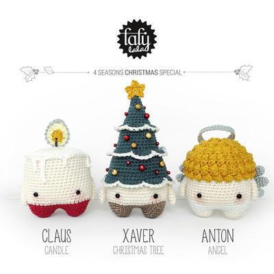 Cómo hacer adorables amigurumis para navidad - Amigurumi navideño ... | 400x400
