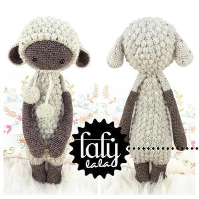 Pecora Amigurumi Tutorial - Sheep Crochet (Eng Sub) Oveja Crochet ... | 400x400