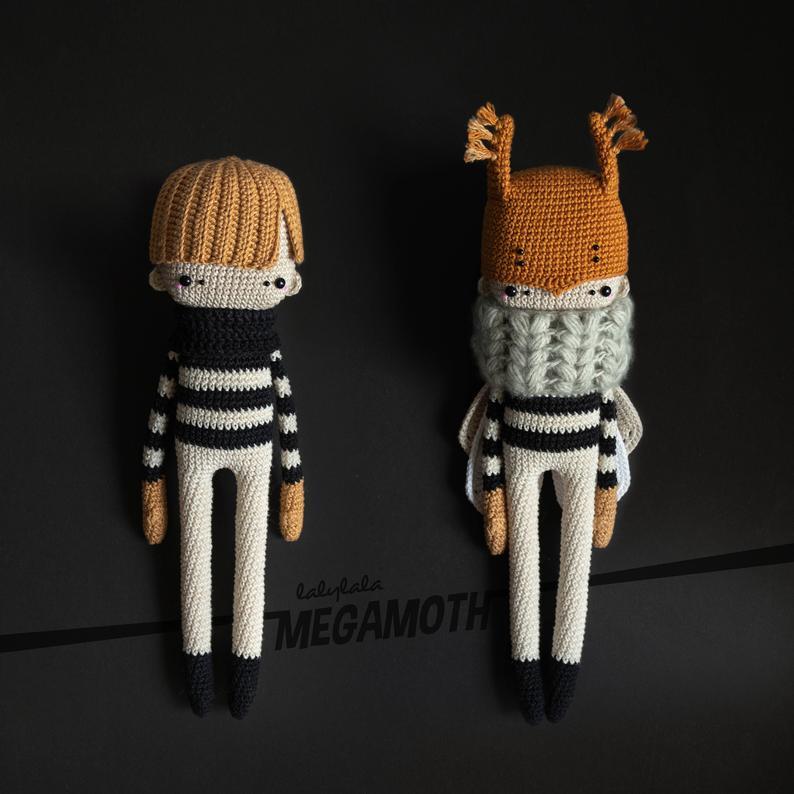 Patrón de crochet Megamoth Mortimer