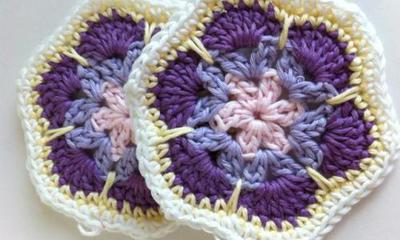 Granny Square African Flower Hexagon