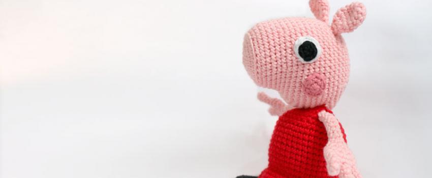 Mantita de apego Peppa Pig tutorial. - YouTube | 350x850
