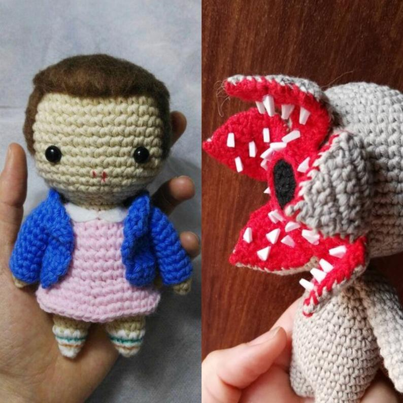 DEMOGORGON and ELEVEN Pattern pack - Stranger Things