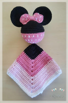 Mantita de apego MInnie Mouse