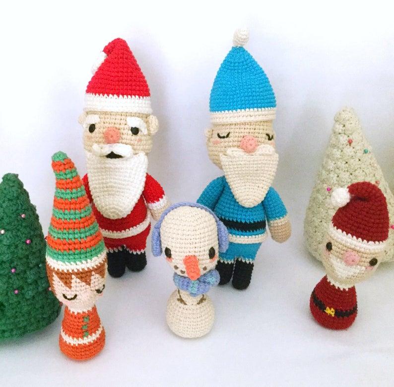 Bota o calcetín de crochet para adornar en Navidad (amigurumi ... | 779x794