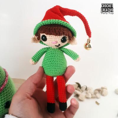 Patrón elfo Tiny