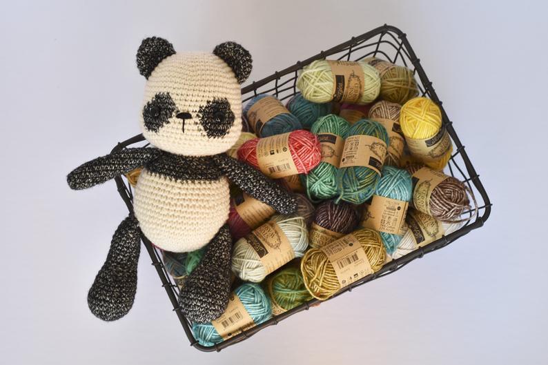 Amigurumi Panda häkeln | Supergurumi | 529x794
