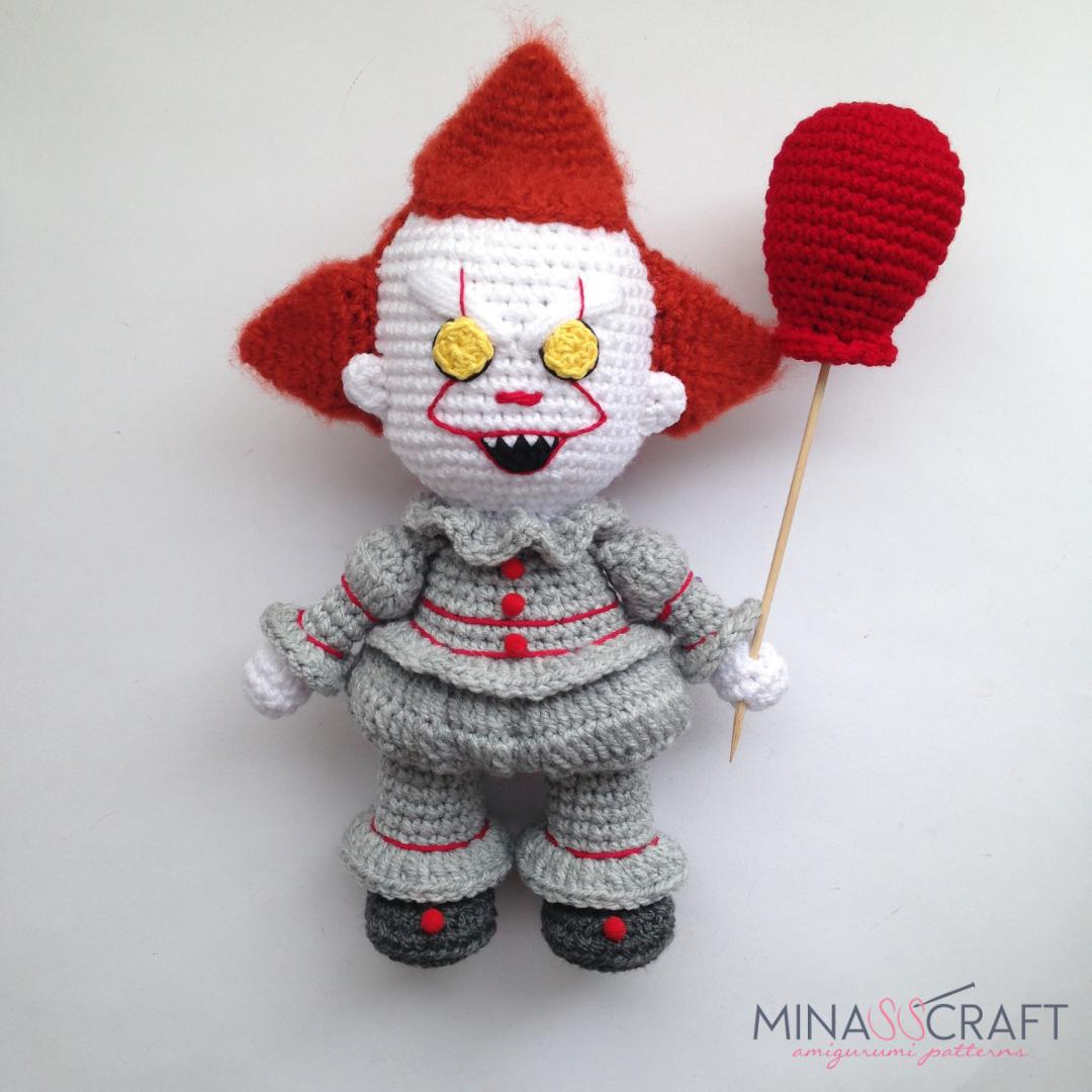 Amigurumi Joker Free Crochet Pattern, 2020 (Görüntüler ile) | 1080x1080