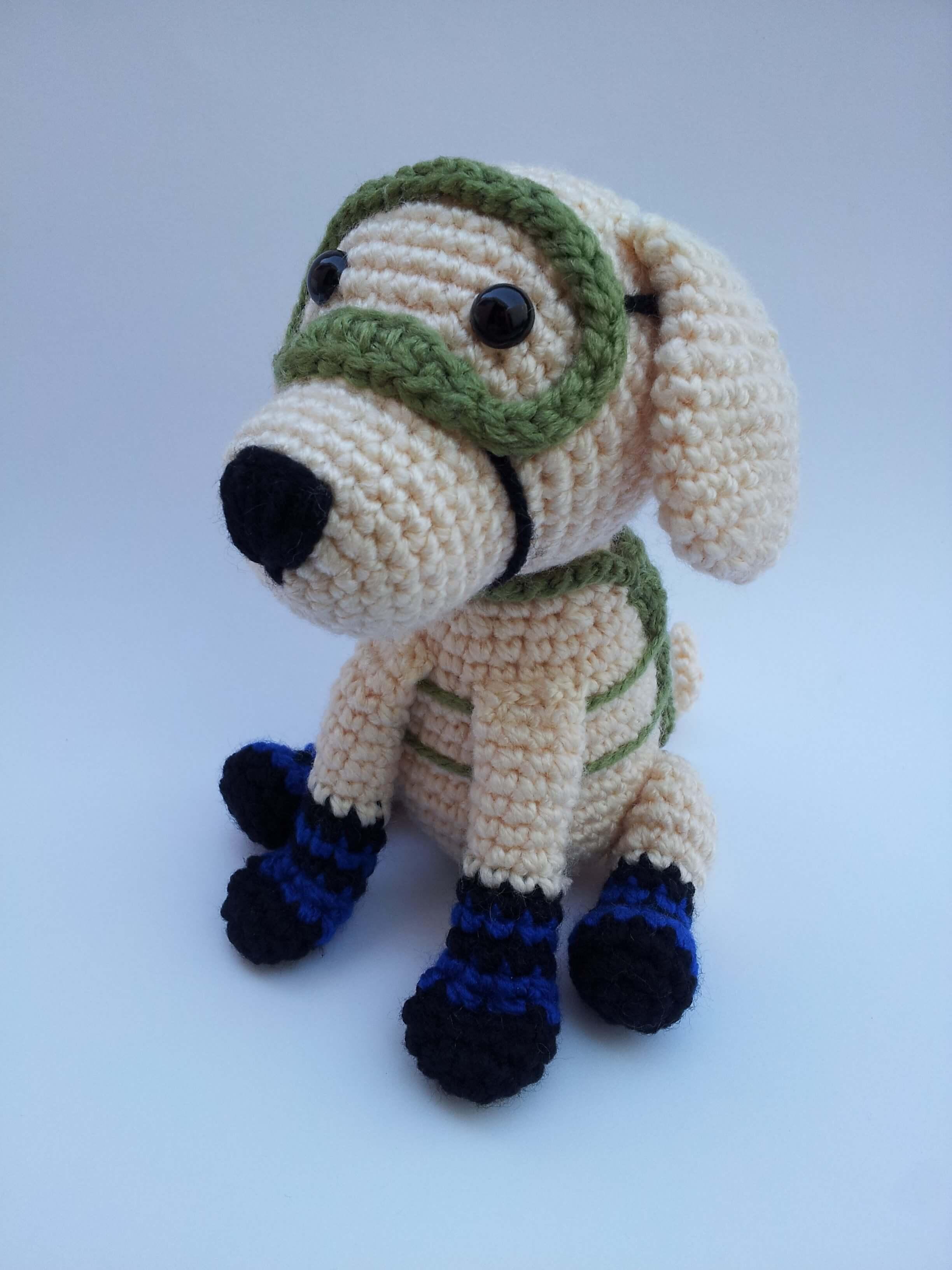 Pug dog amigurumi tutorial | Amiguroom Toys | 3264x2448