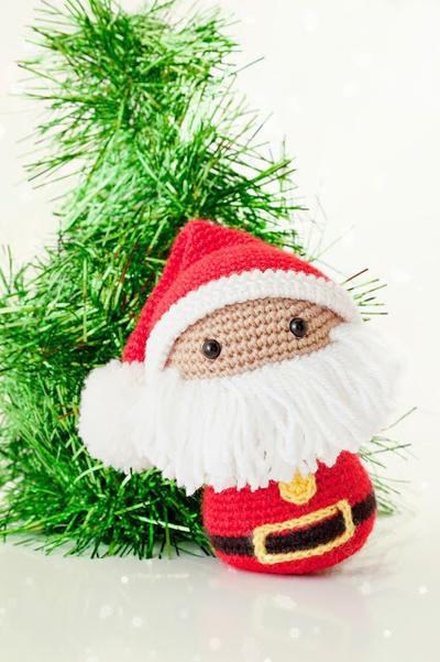 Amigurumi Santa Free Crochet Pattern | Patrones amigurumi ... | 601x400