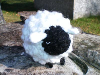 Oveja GRANDE grande tejida a crochet (amigurumi + punto ovejita ... | 300x400