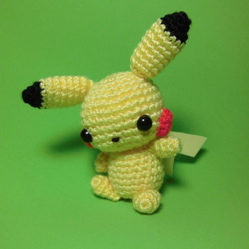 Pikachu amigurumi tutorial - YouTube | 794x794