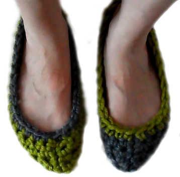 Patrones de zapatillas - donpatron