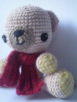 Ardilla patrón de ganchillo Amigurumis Soft Toys Sally Ardilla DK Patrón DMC