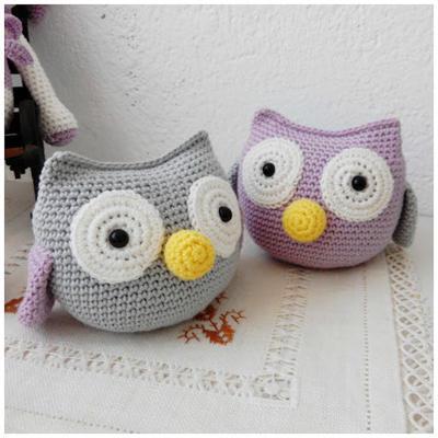 Free crochet owl amigurumi pattern - Amigurumi Today | 400x400
