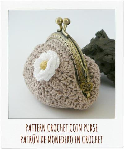 Donpatron Patron Monedero Tierra A Crochet - Monedero-crochet-patron