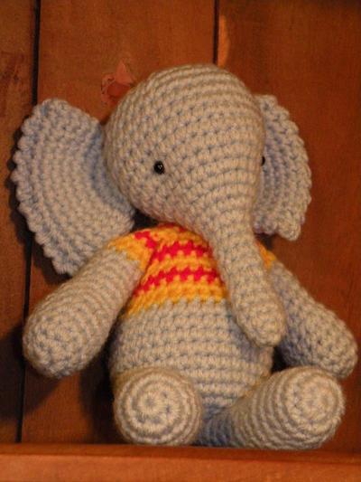 Crochet Elefante Cosas Animal Miniatura Elefante Amigurumi   Etsy   533x400