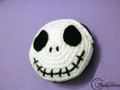 Jack Skellington amigurumi tutorial de canal crochet - YouTube | 300x400