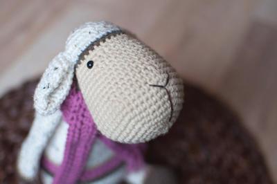 Pecora Amigurumi Tutorial - Sheep Crochet - Oveja Crochet nel 2020 ... | 266x400