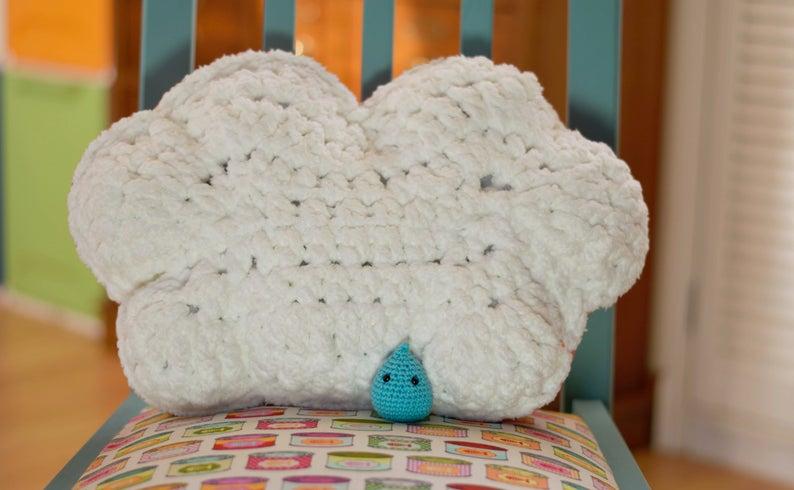 ☁ Nube tejida a Crochet - Cloud crochet ☁ - YouTube | 490x794