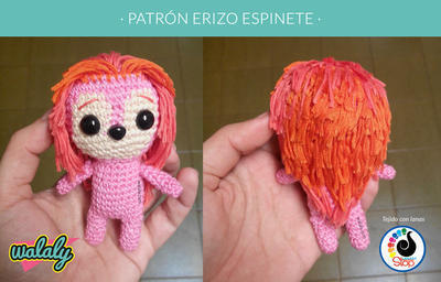 Llavero – Amigurumi Patterns | 256x400