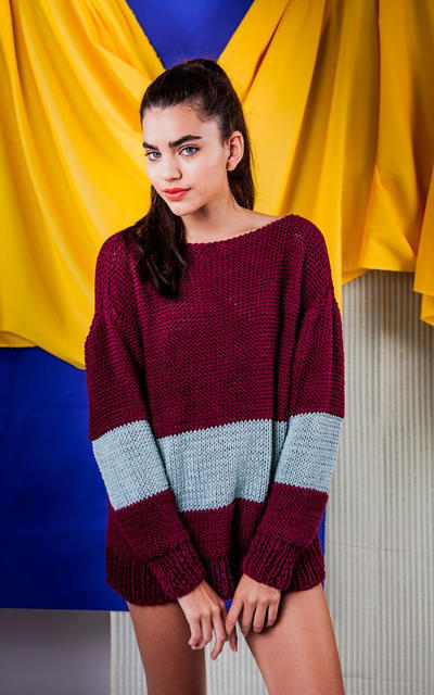 Bahía Sweater Knitting Kit