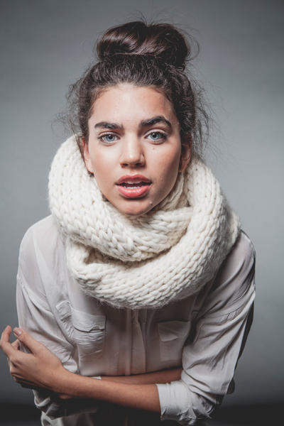 Breezy Snood knitting kit
