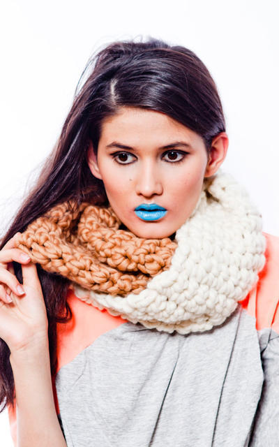 Cosmopolitan Snood crochet kit