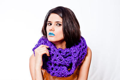 Daiquiri Snood crochet kit