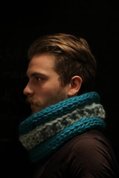 Johnny Snood knitting kit
