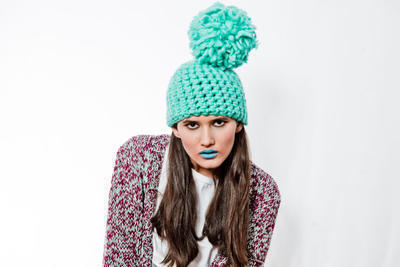 Margarita Beanie crochet kit