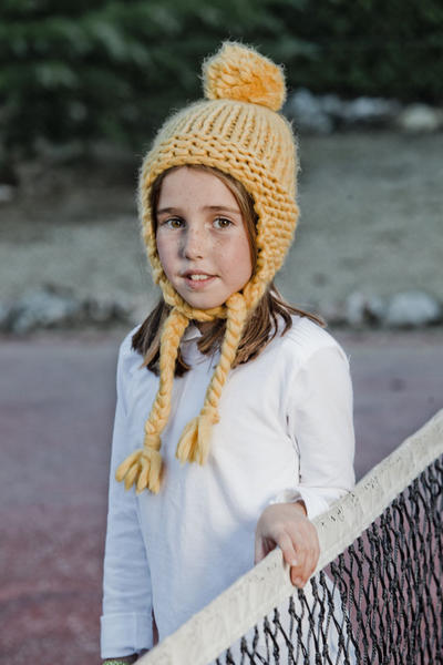 Mini-Kiki Beanie Knitting kit