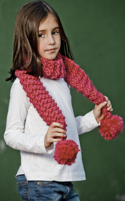 Mini Paranoia Scarf knitting kit