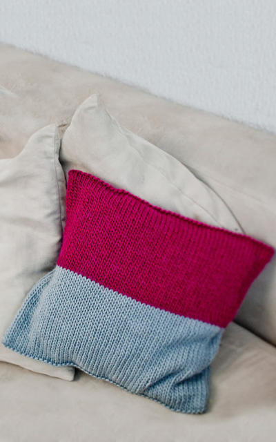 Miso Cushion Knitting kit