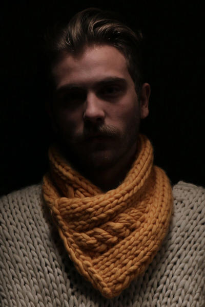 Pedro Collar knitting kit