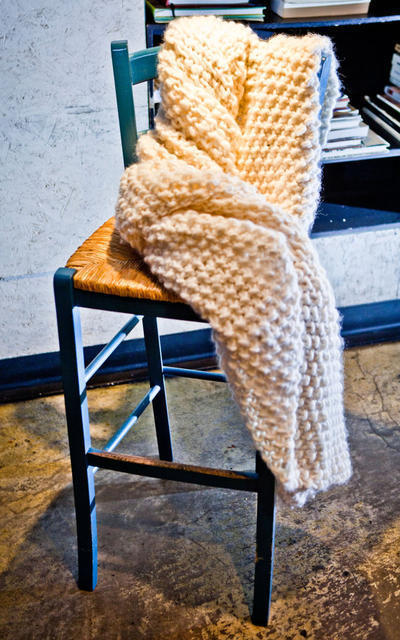 Udon Blanket Knitting kit